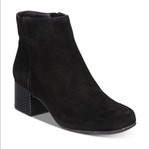 Kenneth Cole Reaction Road Stop Suede Ankle Bootie